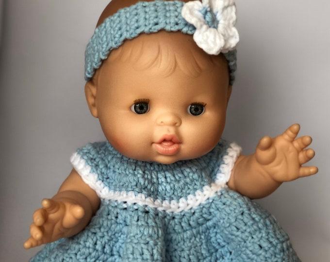 Dress-crocheted-Suitable for Poala Reina Gordi dolls.
