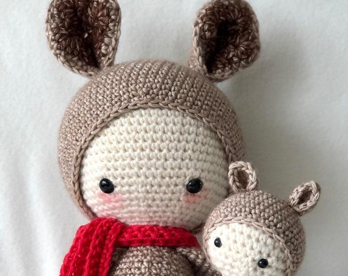 Kira the Kangaroo Handmade by Omanel