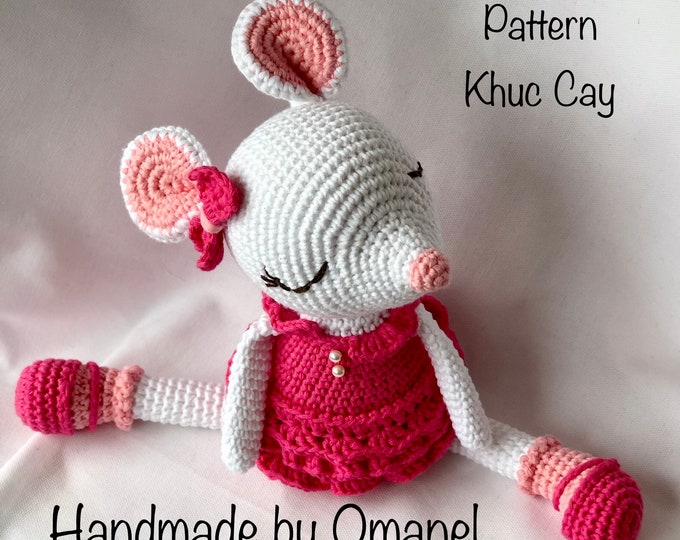 Khuccay Small Mouse Xuxu -- Handmade by Omanel