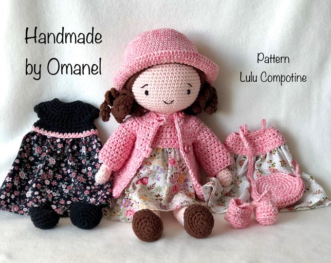 Pop Lucy with matching clothing -Handmade by Omanel