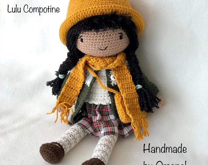 Pop Maartje complete with 3 sets of clothing - Handmade by Omanel