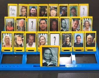 Custom / personalized Guess Who Board game