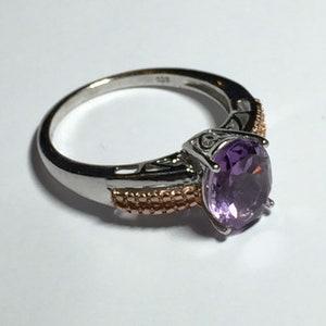 Silver Gold Rhodium!! GEMS EN VOGUE Michael Valitutti Ring Huge Stone Never Worn