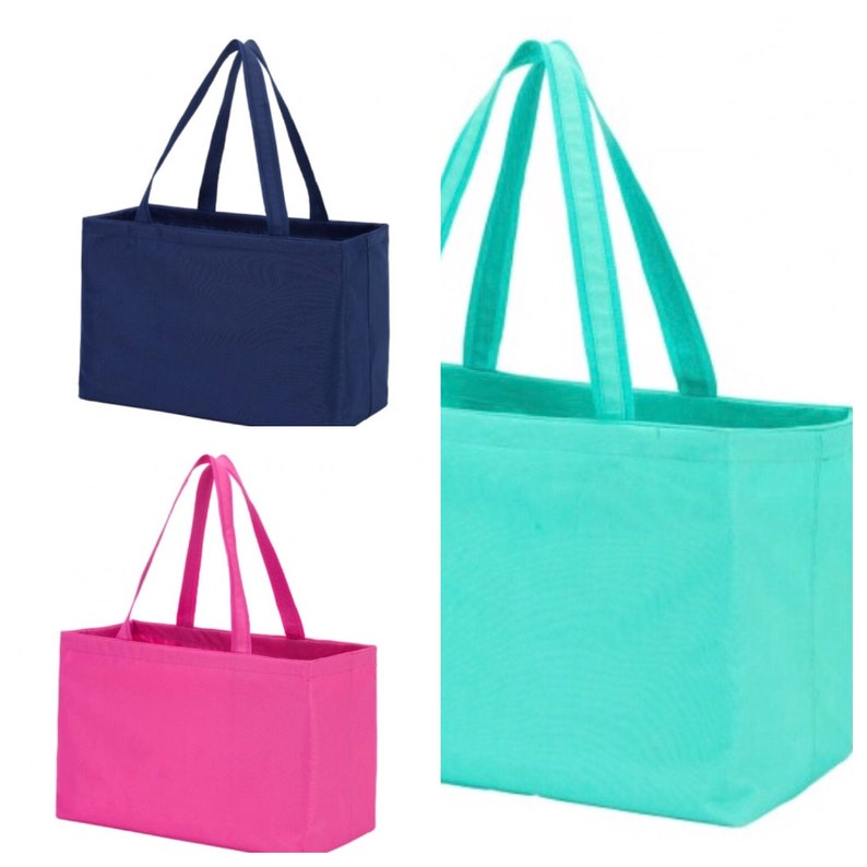 Ultimate Tote Personalized Utility Tote Embroidered Tote Monogrammed Beach Bag