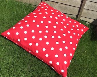 Outdoor Polka Dot Pillow Large