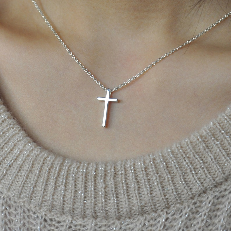 Godmother Gift Godmother Necklace Will You be My Godmother Godmother Proposal Cross Necklace