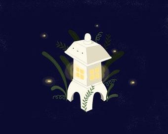 Lantern Print