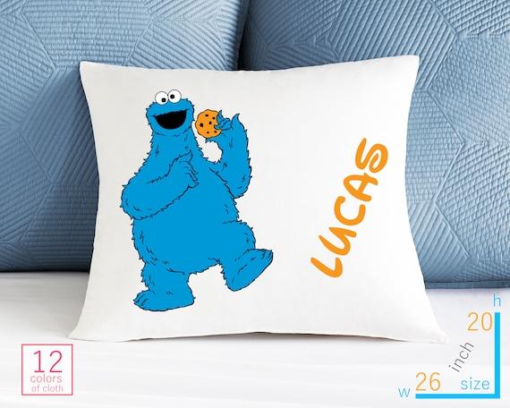 Your Name Personalized Elmo Sesame Street Pillow Case Custom Made w