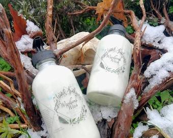 Woodland Witch Body Lotion / Organic Lotion / Vegan Lotion / Sensitive Skin Body Lotion / Rosemary Lotion / Eczema Lotion
