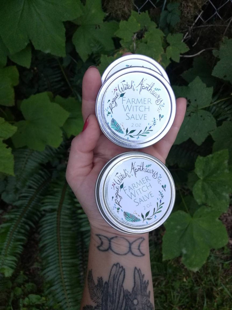 Farmer Witch Salve / Hand Salve / Healing Ointment / Dry Skin image 0