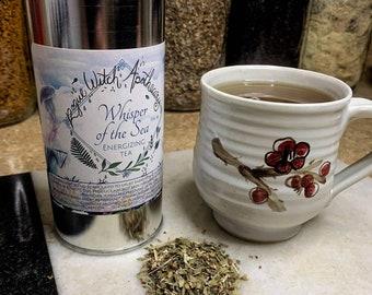 Whisper of the Sea Energizing Tea / Uplifting Tea / Caffeinated Tea / Peppermint Tea / Adaptogenic Tea