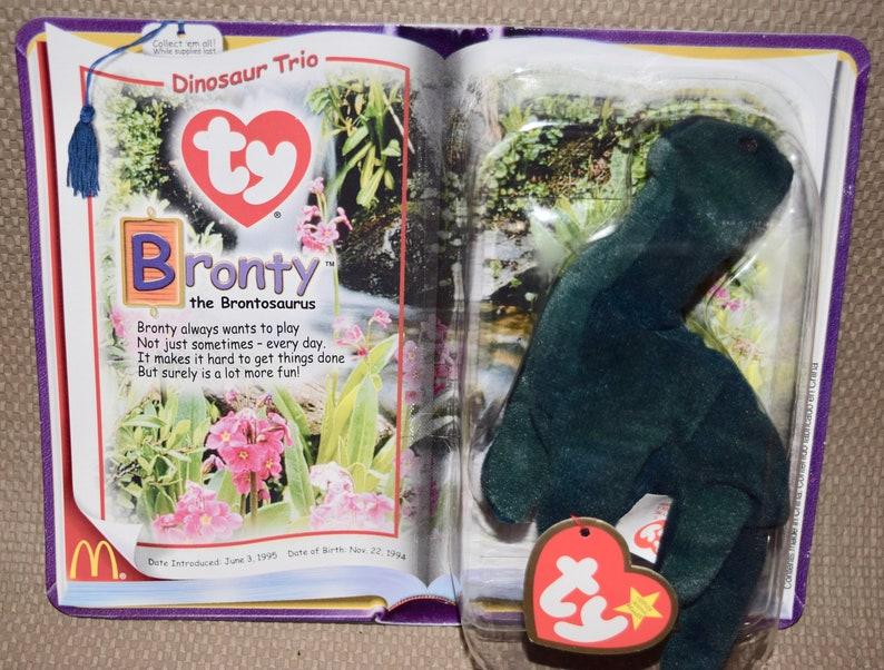 33c61857918 Bronty Ty McDonald s Teenie Beanie Babies Collection