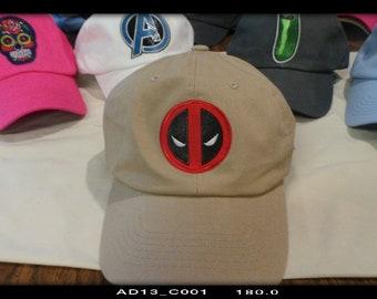 240eb67728f4a deadpool dad hat