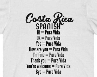PURA VIDA Costa Rica Women/'s short sleeve Dolphin t-shirt
