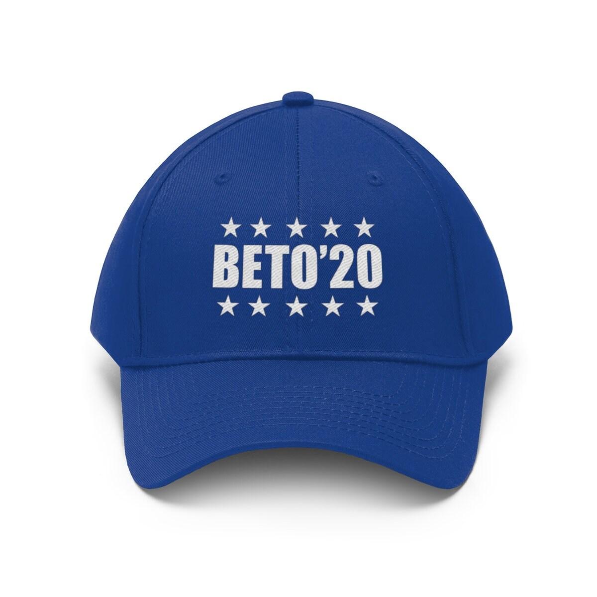 21b1d2f8b Beto 2020 Cap Unisex Embroidered Hat ~ Beto O'Rourke   Blue Wave Texas    Texas Democrat   Election 2020   Senator Beto ~ Beto 2020 Election