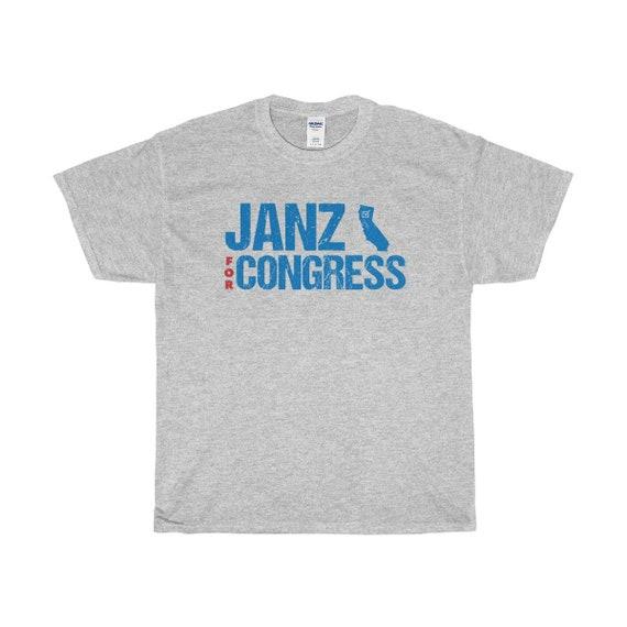 Andrew Janz pour congrès tshirt tshirt congrès | Chemise de Californie 2018 | Élections de mi-mandat | Démocrates | Blue Wave | Libérale | Tee-shirt unisexe vote ec85cb