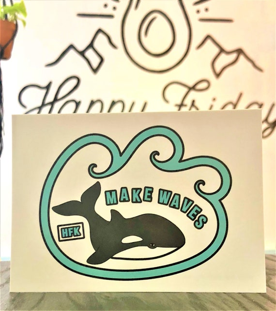 HFK Make Waves Vegan Print
