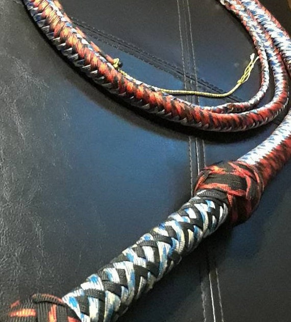 6 Foot Bull Whip Real Leather Accessory Prop Dominatrix