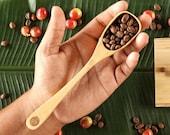 Real Coffee Wood Long Coffee Scoop