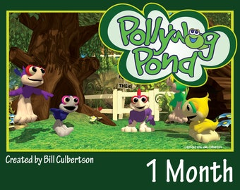 Pollywog Pond - One Month Subscription