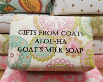 Aloe-Ha (Aloe & Milk Soap) - Goat Milk Soap