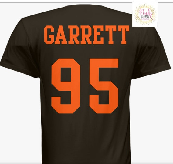 official photos f35f2 9629c Cleveland Browns T Shirt Jersey