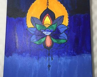 Lotus flower bomb