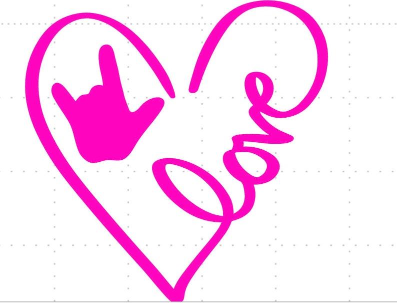 846+ Asl Love Svg Ppular Design