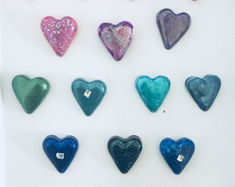 Candy Heart Magnets