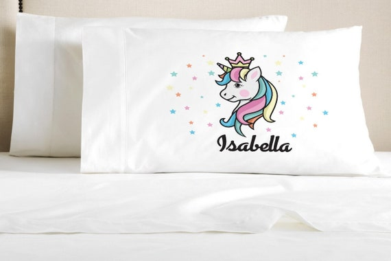 kids customize pillow cases etsy