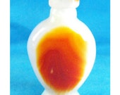 Antique Chinese Alashan Agate Carved Snuff Bottle R2363