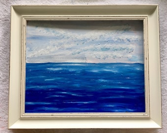 Acrylic Seascape Painting