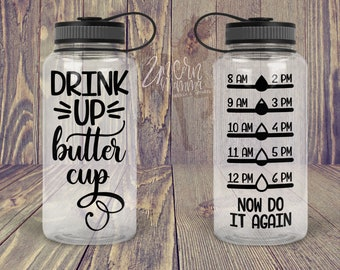 Water bottle 4 x Football and Any Name Vinyl Stickers//Decals Mason jars