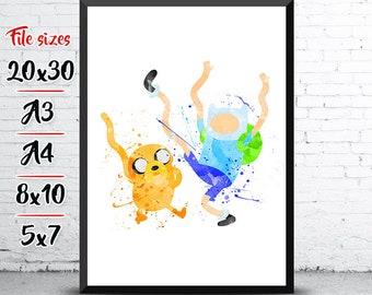 Beliebt Bevorzugt Adventure time   Etsy @RQ_96