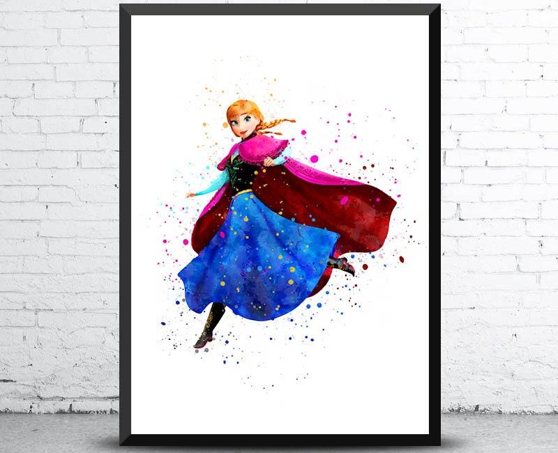 Gefrorene Anna Poster Prinzessin Anna Anna Disney Disney | Etsy