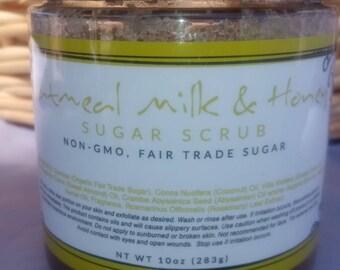 Oatmeal Milk & Honey Sugar Scrub
