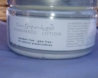 Unscented Handmade Lotion