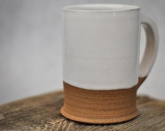 Ceramic Coffee Mug | Modern Rustic Stoneware | Mug Handmade | Pottery Mug | Mugs Handmade