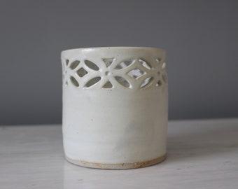 Candle holder ceramics