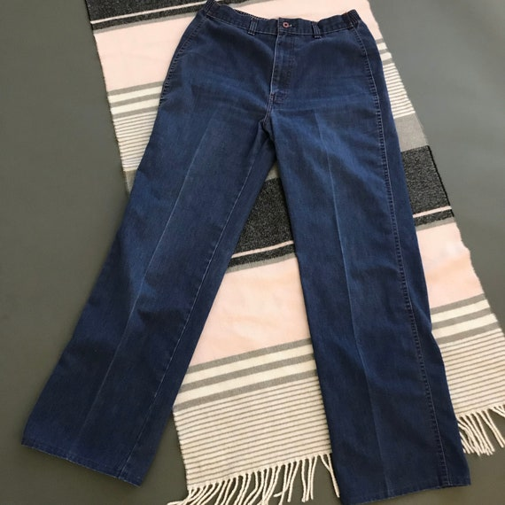 Levis M L 28 high waisted flares wide leg vintage