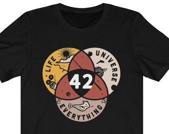 c60f43e8b87b13 42 The Answer To Life Universe And Everything shirt