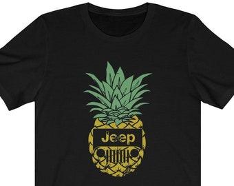 89f7012b6 Pineapple Jeep T-Shirt