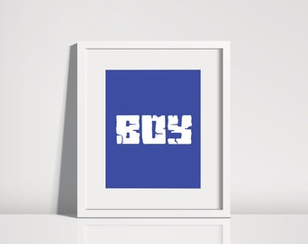 best verkopende items boy minecraft blauw kids bestseller digitale download art minecraft minecraft slaapkamer afdrukbare kunst wordt afgedrukt