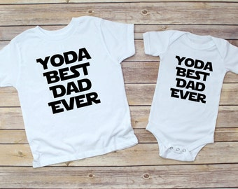 47963517 Yoda Best Dad Ever, Fathers Day Shirt, Fathers Day Star Wars Shirt, Star  Wars Kids Shirt, Star Wars Onesie, Fathers Day Onesie, Yoda Best