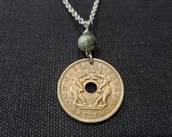 Wondrous Persiaa Bronze Coin Pendant Antiquities