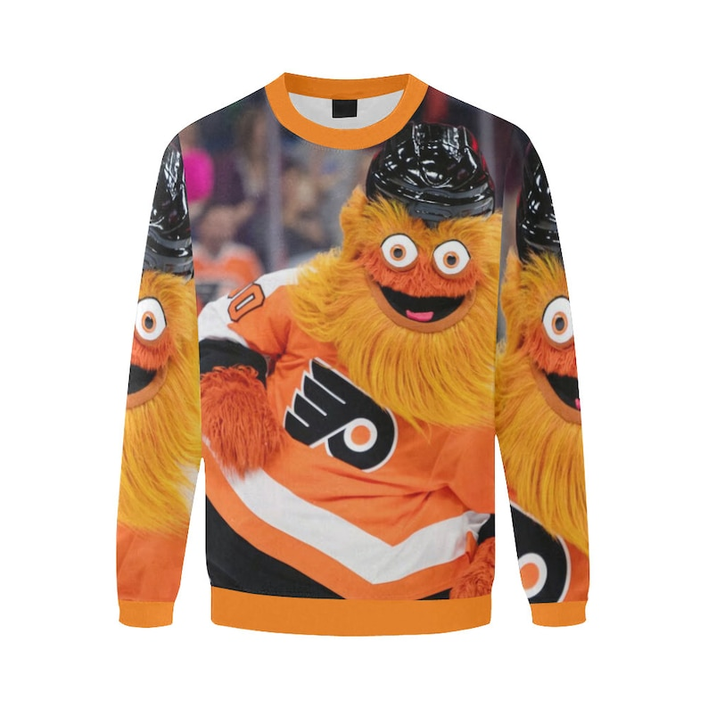 cd873c5e96 Gritty Sweater Jumper Philadelphia Flyers Mascot Shirt Gifts | Etsy