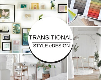 TRANSITIONAL STYLE DESIGN⎜eDesign