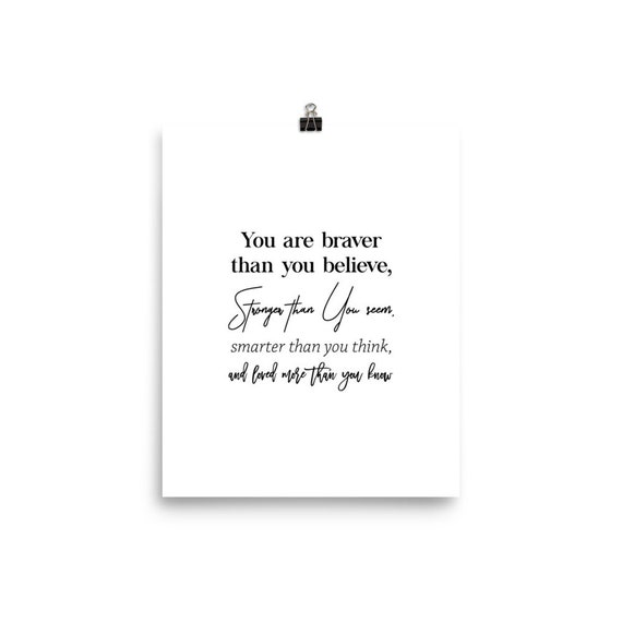 Classy as F* Inspirational Quote Poster Art Print A3 A4 A5 A6 Decor Gift Love