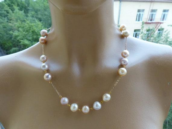 Nature pearl* chain silver 925* baroque pearl