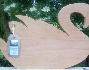 Bespoke Swan Chopping Board